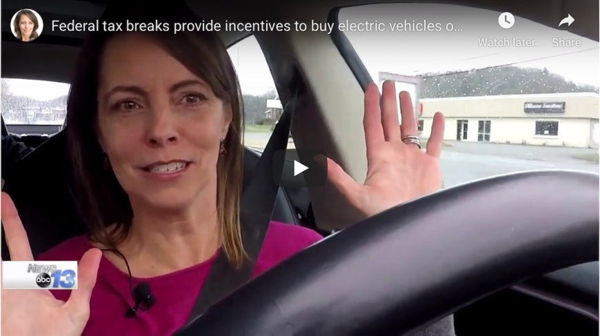 Tesla Electric Vehicle Tax Advantages WLOS News Francie Black