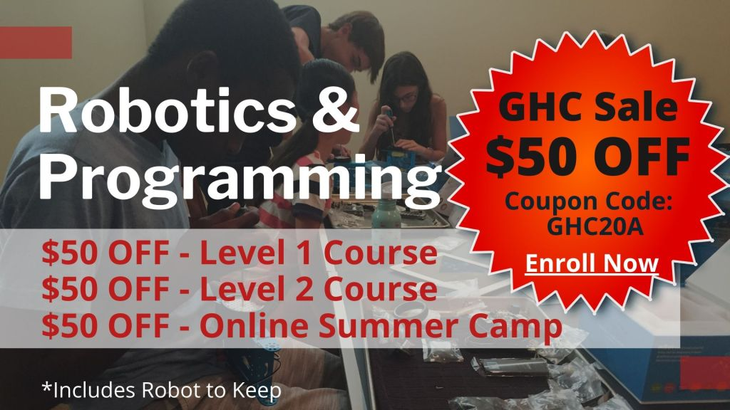 Robotics and Programming One Courses Classes for Homeschool students coops curriculum